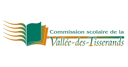 logo Commission scolaire Vallee des Tisserands